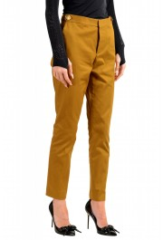 Dsquared2 Women's Mustard Brown Casual Pants: Picture 2