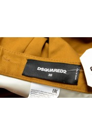 Dsquared2 Women's Mustard Brown Casual Pants: Picture 4