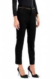 Dsquared2 Women's Black Wool Dress Pants: Picture 2