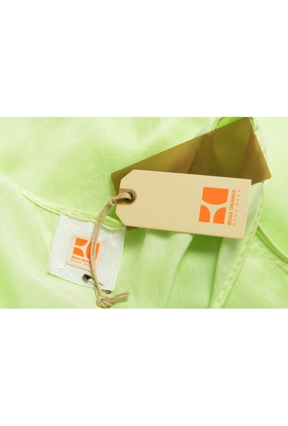 "Hugo Boss Orange Women's ""Etope"" Green Silk Sleeveless Blouse Top : Picture 5"