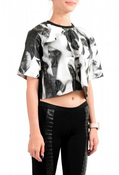 Dsquared2 Women's Multi-Color Short Sleeve Blouse Top: Picture 2