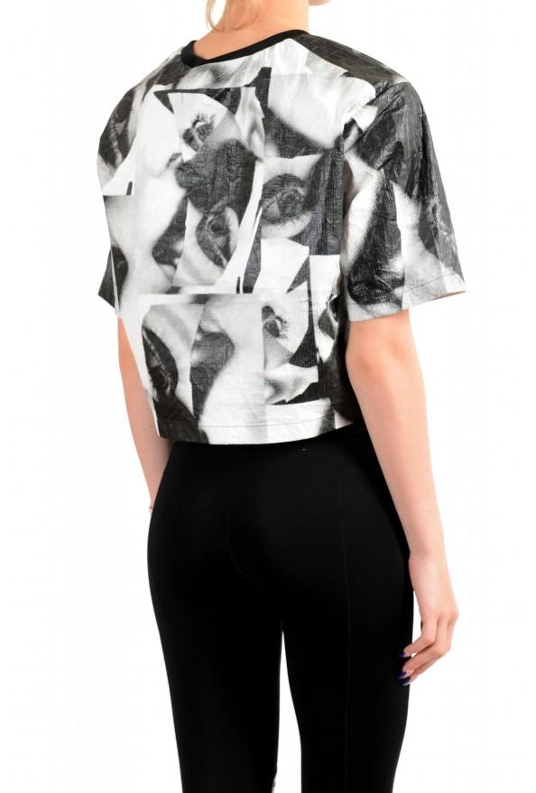 Dsquared2 Women's Multi-Color Short Sleeve Blouse Top: Picture 3