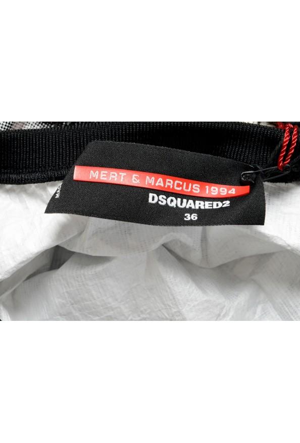 Dsquared2 Women's Multi-Color Short Sleeve Blouse Top: Picture 5