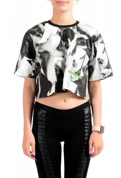 Dsquared2 Women's Multi-Color Short Sleeve Blouse Top