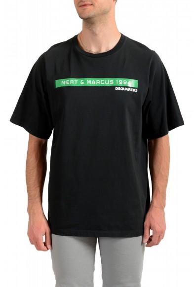 """Dsquared2 & """"Mert & Marcus 1994"""" Black Oversized T-Shirt"""