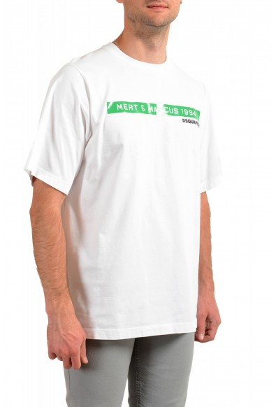 """Dsquared2 & """"Mert & Marcus 1994"""" White Oversized T-Shirt: Picture 2"""