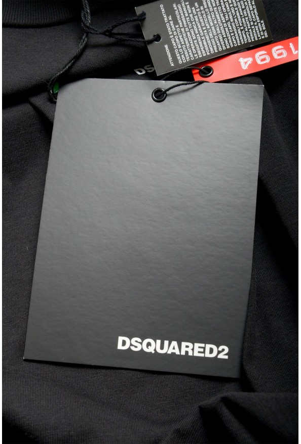 """Dsquared2 & """"Mert & Marcus 1994"""" Black Oversized T-Shirt: Picture 7"""