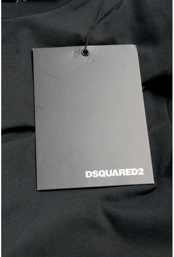 """Dsquared2 & """"Mert & Marcus 1994"""" Black Oversized T-Shirt: Picture 6"""
