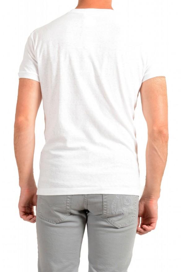 Dsquared2 Men's White Graphic Crewneck T-Shirt: Picture 3