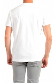 Dsquared2 Men's White Logo Print Crewneck T-Shirt: Picture 3