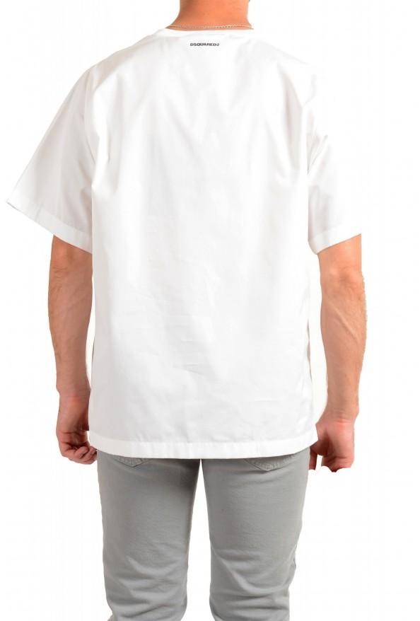 "Dsquared2 & ""Mert & Marcus 1994"" Men's White Oversized T-Shirt: Picture 3"