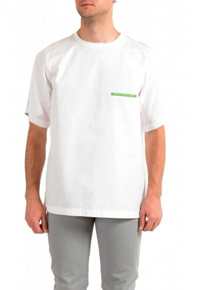 """Dsquared2 & """"Mert & Marcus 1994"""" Men's White Oversized T-Shirt"""