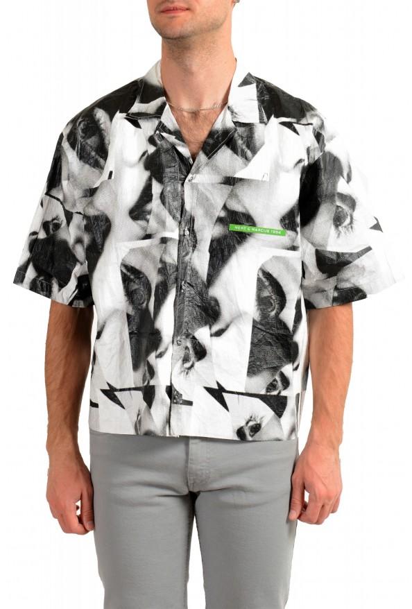 """Dsquared2 & """"Mert & Marcus 1994"""" Button Down Short Sleeve Shirt"""