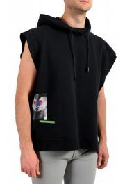 "Dsquared2 & ""Mert & Marcus 1994"" Men's Black Sleeveless Sweatshirt Hooded Vest: Picture 2"