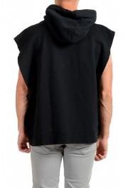 "Dsquared2 & ""Mert & Marcus 1994"" Men's Black Sleeveless Sweatshirt Hooded Vest: Picture 3"