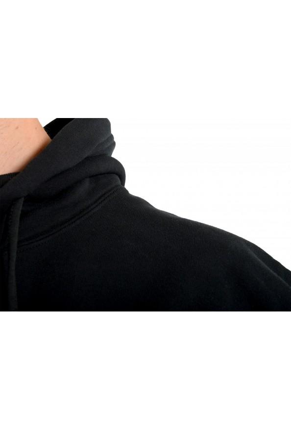 "Dsquared2 & ""Mert & Marcus 1994"" Men's Black Sleeveless Sweatshirt Hooded Vest: Picture 4"