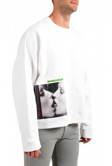 "Dsquared2 & ""Mert & Marcus 1994"" Men's White Crewneck Sweatshirt: Picture 2"