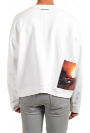 "Dsquared2 & ""Mert & Marcus 1994"" Men's White Crewneck Sweatshirt: Picture 3"