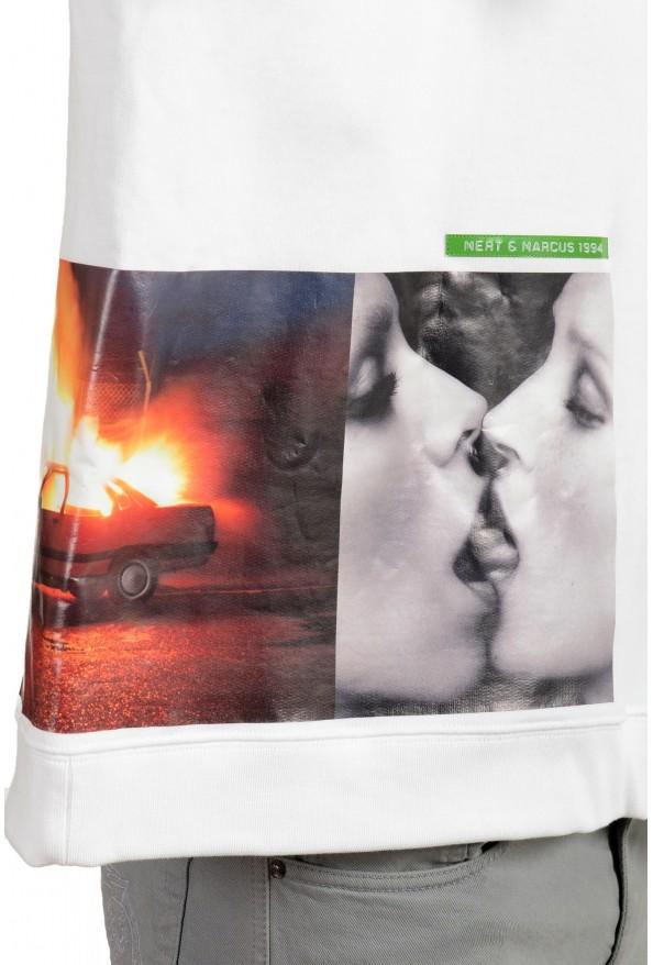"Dsquared2 & ""Mert & Marcus 1994"" Men's White Crewneck Sweatshirt: Picture 4"