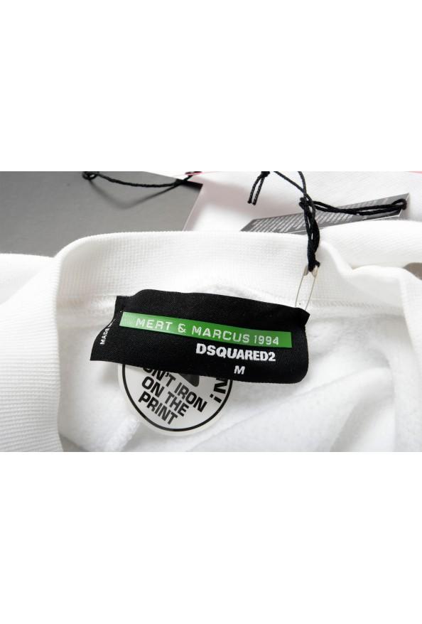 "Dsquared2 & ""Mert & Marcus 1994"" Men's White Crewneck Sweatshirt: Picture 6"
