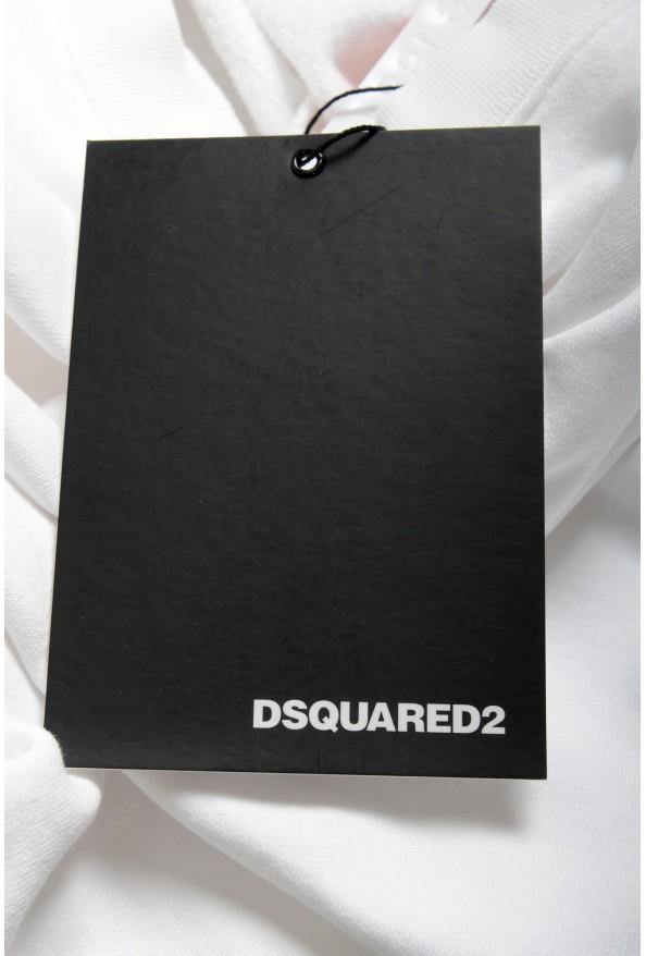 "Dsquared2 & ""Mert & Marcus 1994"" Men's White Crewneck Sweatshirt: Picture 7"