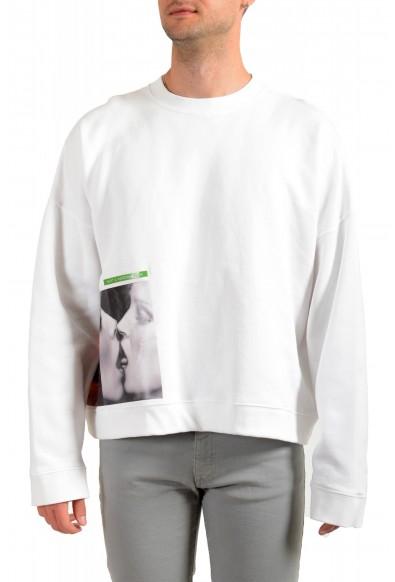 "Dsquared2 & ""Mert & Marcus 1994"" Men's White Crewneck Sweatshirt"
