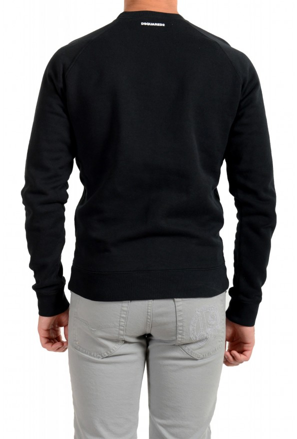 "Dsquared2 & ""Mert & Marcus 1994"" Men's Black Crewneck Sweatshirt: Picture 3"