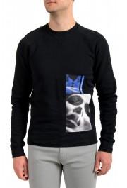 """Dsquared2 & """"Mert & Marcus 1994"""" Men's Black Crewneck Sweatshirt"""