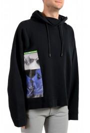 """Dsquared2 & """"Mert & Marcus 1994"""" Men's Black Hooded Sweatshirt: Picture 2"""