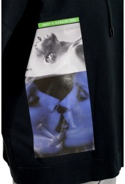 """Dsquared2 & """"Mert & Marcus 1994"""" Men's Black Hooded Sweatshirt: Picture 4"""