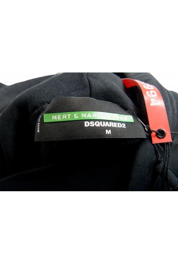 """Dsquared2 & """"Mert & Marcus 1994"""" Men's Black Hooded Sweatshirt: Picture 6"""