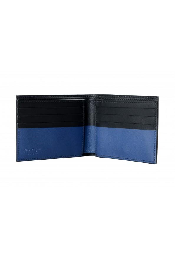Salvatore Ferragamo Men's Logo 100% Leather Bifold Wallet: Picture 2