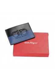 Salvatore Ferragamo Men's Logo 100% Leather Card Holder: Picture 4