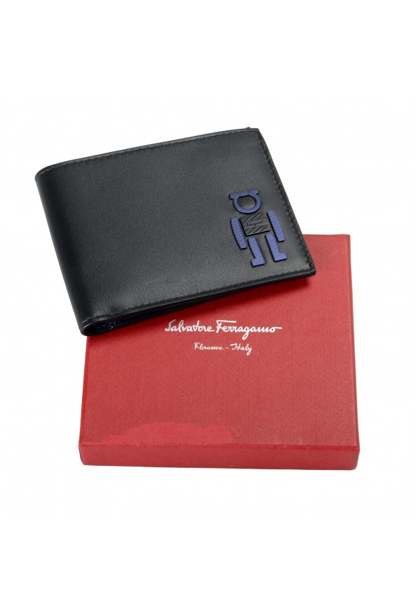 Salvatore Ferragamo Men's Logo 100% Leather Bifold Wallet: Picture 5
