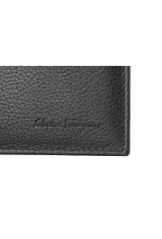Salvatore Ferragamo Men's Dark Brown 100% Textured Leather Bifold Wallet: Picture 2