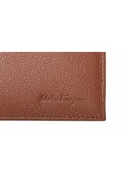 Salvatore Ferragamo Men's Brown 100% Textured Leather Bifold Wallet: Picture 2