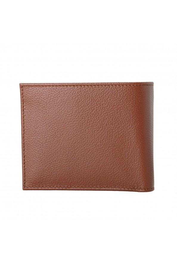 Salvatore Ferragamo Men's Brown 100% Textured Leather Bifold Wallet: Picture 5