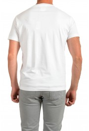 Dsquared2 Men's White Logo Print Crewneck T-Shirt : Picture 3