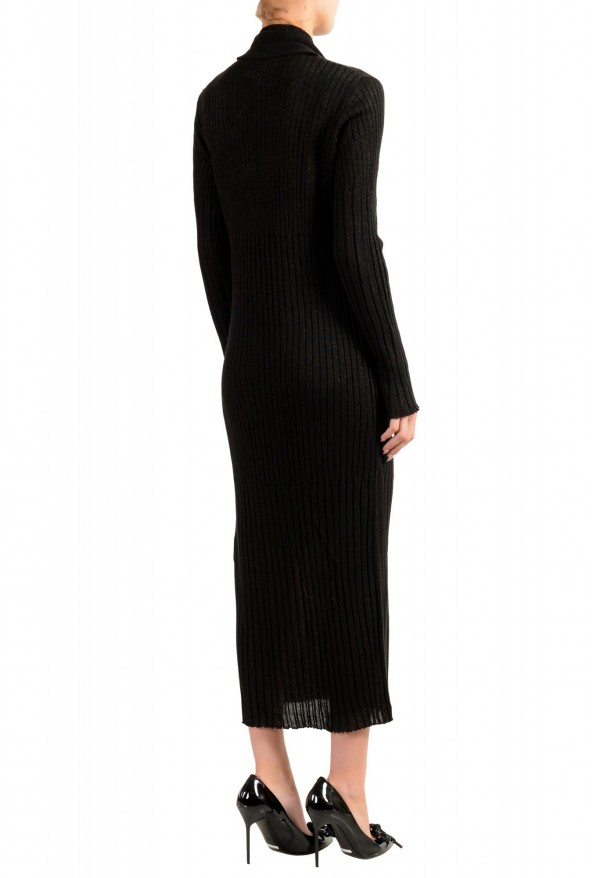 Just Cavalli Women's Knitted Wool Button Down Cardigan Dress: Picture 3