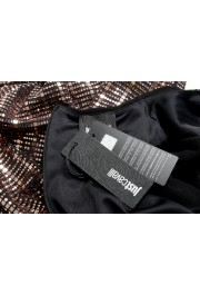 Just Cavalli Women's Sparkle Long Sleeve Evening Ball Gown Dress: Picture 5