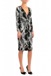 Just Cavalli Women's Multi-Color V-Neck Stretch Shift Dress: Picture 2
