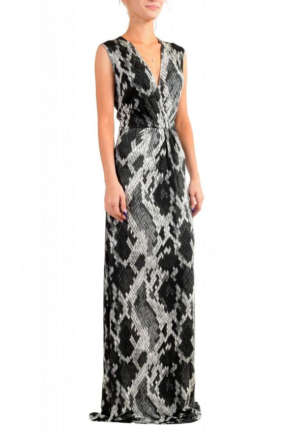 Just Cavalli Women's Animal Print Stretch Evening Dress: Picture 2