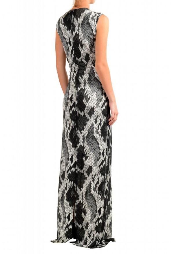Just Cavalli Women's Animal Print Stretch Evening Dress: Picture 3