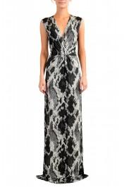 Just Cavalli Women's Animal Print Stretch Evening Dress