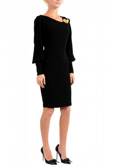 Just Cavalli Women's Black Long Sleeve Shift Dress: Picture 2