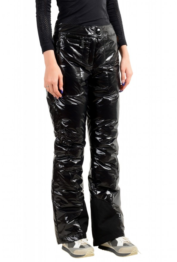 Moncler Women's Black Down Insulated Winter Snow Ski Pants: Picture 2