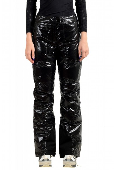 Moncler Women's Black Down Insulated Winter Snow Ski Pants