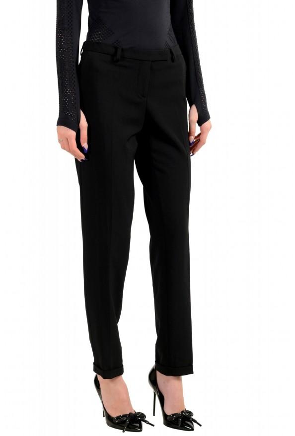 Moncler Women's Black Wool Dress Pants: Picture 2