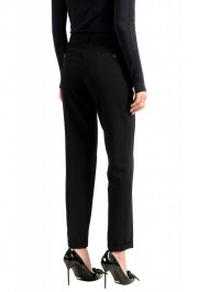 Moncler Women's Black Wool Dress Pants: Picture 3