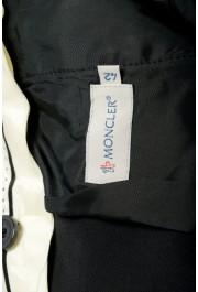 Moncler Women's Black Wool Dress Pants: Picture 4